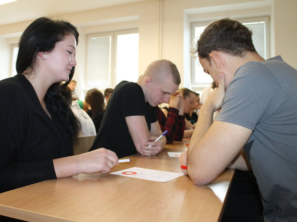 Studenti z regionu v úterý poměřili své síly v soutěži pIšQworky.