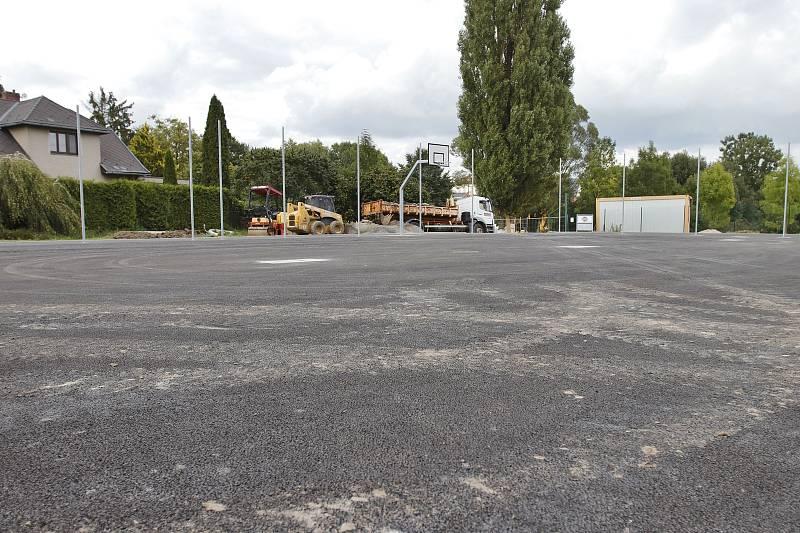 Nové multifunkční hřiště na Hlavaticích v Chotěboři.