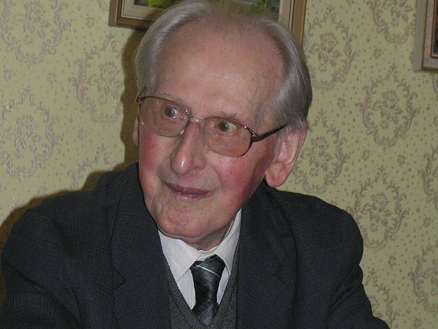 Oldřich Kletečka z Přibyslavi slavil stovku.