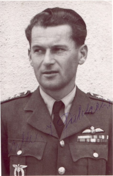 Imrich Gablech po válce.