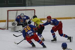 Hokejisté Telče hrají krajský přebor na jihu Čech. Spokojeni v něm jsou, ale vznik obdobné soutěže na Vysočině by přivítali.