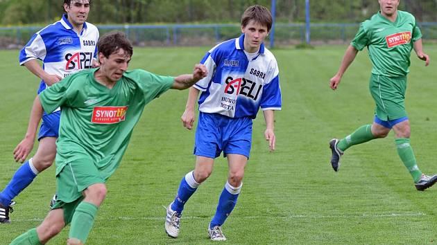 Jarní premiéra. Ta zítra od 15.30 čeká na hráče brodského Slovanu, kteří na domácím hřišti přivítají třetí Náměšť.