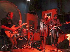 Chotěbořská kapela SHOUT THE BLUES BAND.