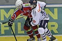 Překvapivá prohra. Hokejisté Třebíče doma podlehli Litoměřicím.