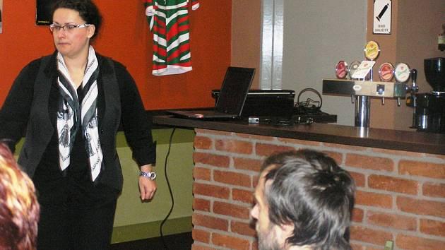 Konference. Aktivity organizace Semitam vysoce hodnotí ambasadorka pro sociální podnikání Lenka Šebelová.