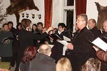 Koncert na zámku v Habrech