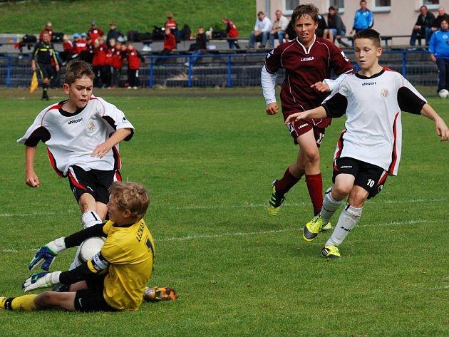 Starší vyšli naprázdno. Ani gól se nepodařilo vstřelit starším žákům brodského Slovanu proti brněnské Zbrojovce.  Naopak hosté si ve všech zápasech s chutí zastříleli.