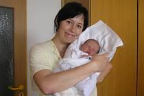 Jana Hortenská s miminkem.