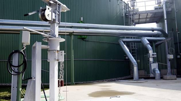 Bioplynová stanice. Ilustrační foto.