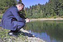 Ministr zemědělství Marian Jurečka navštívil obec Kožlí na Havlíčkobrodsku.