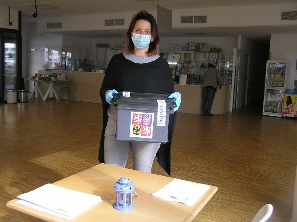 Volby v Domově důchodců Havlíčkův Brod Husova.