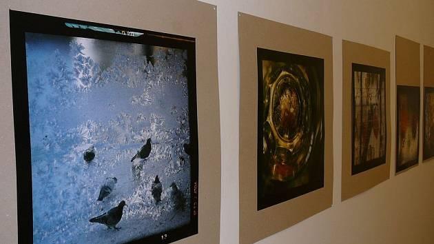 Reynkovy fotografie jsou pořízeny zvláštní technikou, při níž se vrství dva diapozitivy.