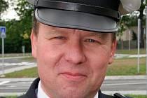 Vedoucí dopravního inspektorátu v Havlíčkově Brodě Václav Pejcha.