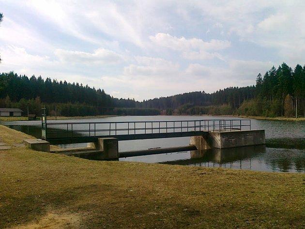 Vodní nádrž Kristiánka.