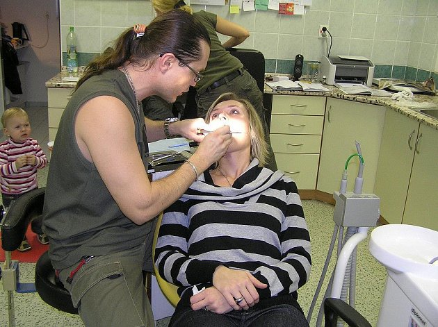 Zubní lékař Milan Hanusek.