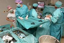 Kraj Vysočina provozuje na Vysočině pětici nemocnic. Jejich fungování je jedním z klíčových témat vrcholící předvolební kampaně. Na snímku je lednová operace žlučníku v brodské nemocnici, při níž byla použita nová laparoskopická věž.