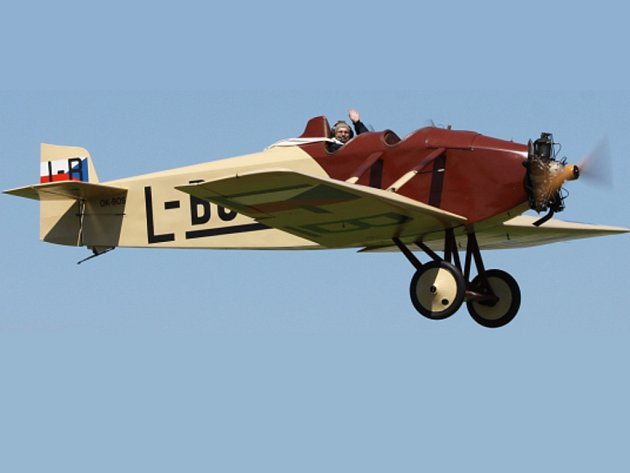 Na své si při letecké show přijdou i milovníci historických letadel.