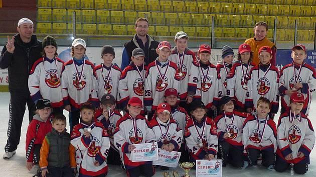 Čtvrťáci HC Rebel Havlíčkův Brod obsadili na dvou turnajích druhé místo.