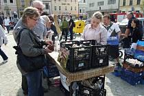 Farmářské trhy v Havlíčkově Brodě.