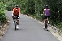 Neděle a středa. Během těchto dvou dní navštíví přibyslavskou cyklostezku nejvíce lidí.