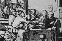 JEZUITA A BÁSNÍK. Bedřich Bridel jako misionář obrací lid na katolickou víru.