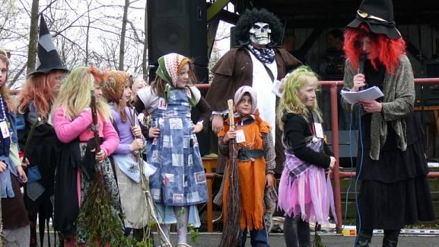 Miss Čarodějnice 2008 v Chotěboři.