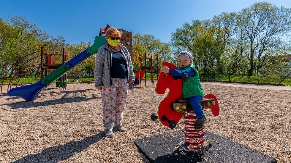 V Jihlavě jsou dětská hřiště také otevřená. Ilustrační foto