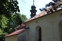 Kostel sv. Jakuba ve Štokách. Ilustrační foto
