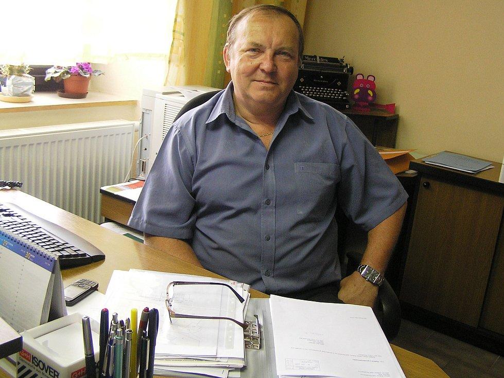 Starosta Jan Martinec ze Ždírce nad Doubravou.