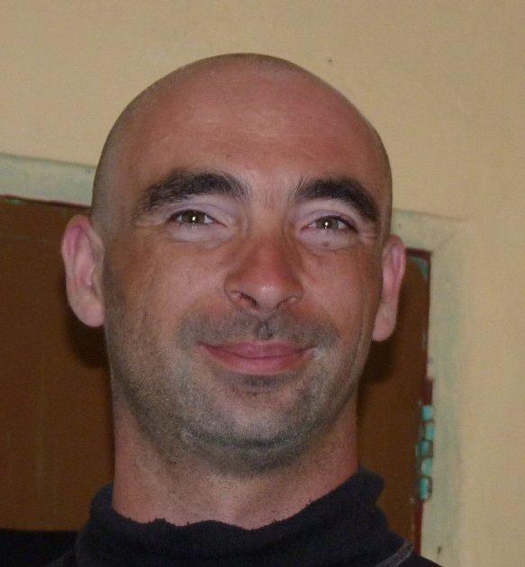 Pohřešovaný Jiří Váňa.