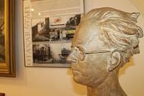Výstava o Štáflovi.