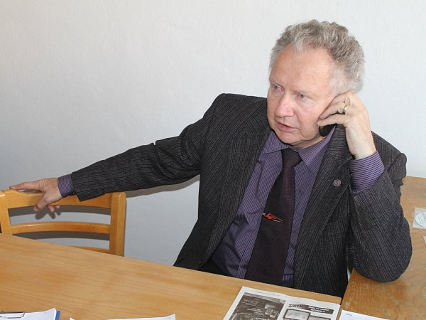 Senátor Jan Veleba.