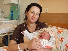 Anežka Simonová, Záboří nad Labem, 22. 03. 2011, 3830 g