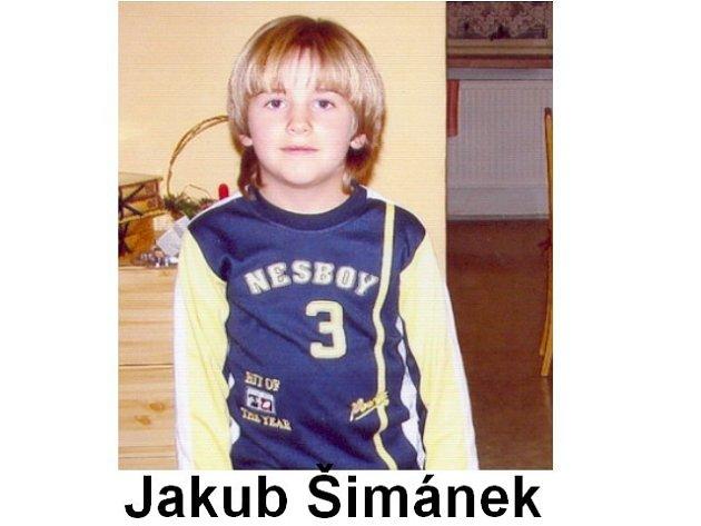 Pohřešovaný devítiletý Jakub Šimánek z Havlíčkova Brodu