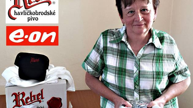 Vítězná Marie Kadelová ze Stránecké Zhoře.