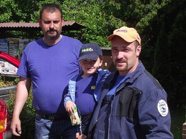 Vísečtí hasiči.