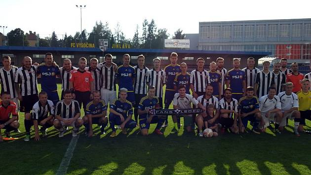 Ledečský klub dostal možnost zavítat do Jihlavy a sehrát utkání s druholigovou Vysočinou. Jeho hráči sice prohráli 10:0, ale zápas si naplno užili.