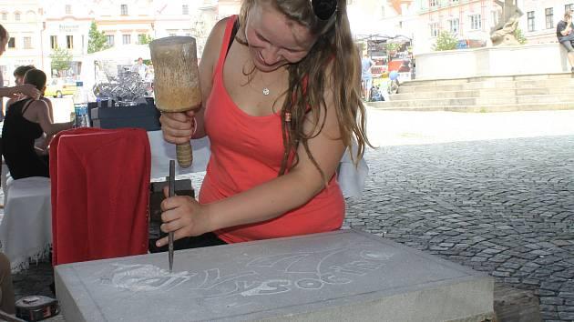Řemesla. Minifestival řemesel představil střední odborné školy z Vysočiny a jejich tvorbu. Bylo co obdivovat.