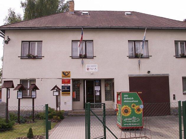 Obecní úřad v Sobíňově.