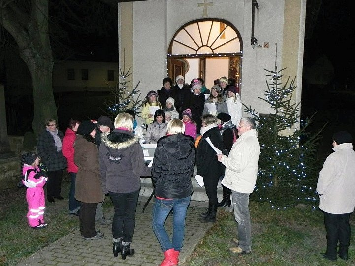 Česko zpívá koledy ve Vepříkově.