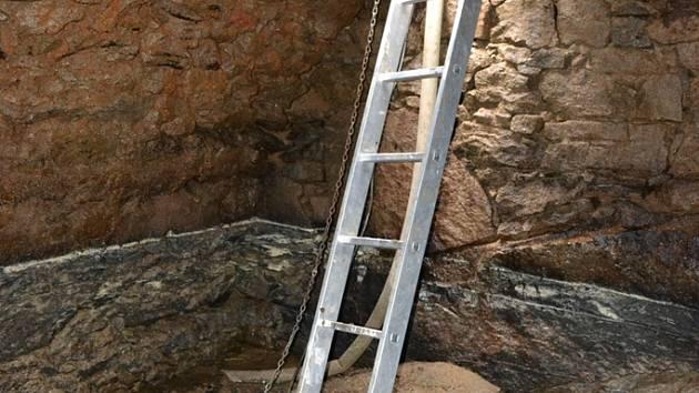 Sklepení je podle archeologa ukázkou stavitelského umění našich předků.