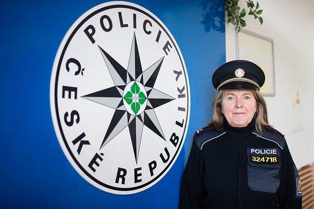 Dana Čírtková - Vedoucí oddělení tisku a prevence Policie České republiky - Krajského ředitelství kraje Vysočina.