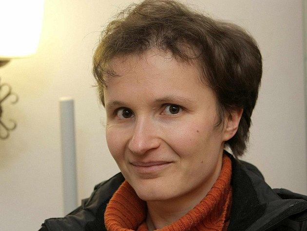 """Renata Píbilová, autorka vítězné """"placky""""."""