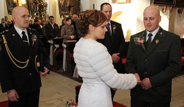 Svatba jako řemen.