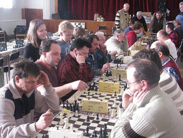Šachový turnaj v Krucemburku.