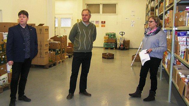 Potravinová banka Vysočina zrekonstruovala a rozšířila své prostory včetně skladových.