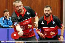 Zkušená část týmu - František Kanra (vlevo) a David Štěpánek.