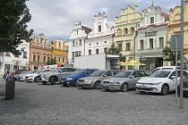Za stání v centru si řidiči v Brodě připlatí.