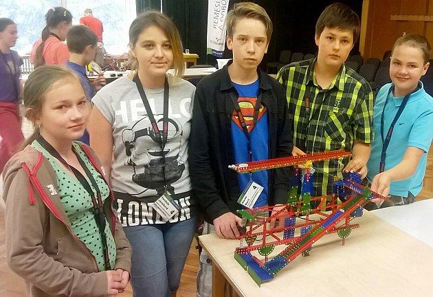 V loňském roce byli školáci z Jeníkova na soutěži poprvé, přesto zabodovali.
