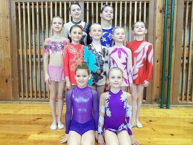 Gymnastky ze Štáflovky.